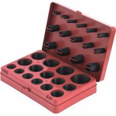Набор резиновых колец 382 шт. (красный)