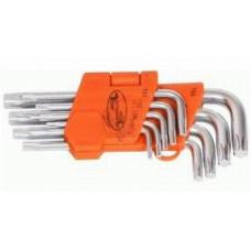 Набор ключей г - обр. TORX T10 - T50 9 пр.