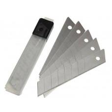 Лезвия для канцелярского ножа 18мм, 10шт.
