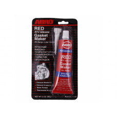 Герметик силиконовый красный  ABRO MASTERS