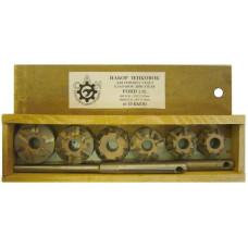 Набор зенковок  победитовых (6 зуб) FORD TRANSIT d-42,36мм
