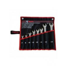 Набор комбинированных ключей 7-19мм 8 пр (сумка)