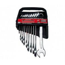 Набор ключей комбинированных 10пр. 75° 8-19 мм в кассете//BAUM