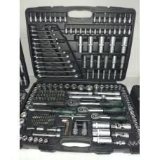 """Набор инструментов 1/4"""",3/8"""",1/2"""", 215 пр. 4-32 мм 6 - гр. AUTOMASTER"""