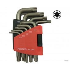 Набор ключей Г - образных Torx  Т10 -Т50 9пр