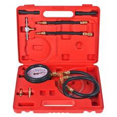 Тестер давления топлива с адаптерами (быстроразъем)
