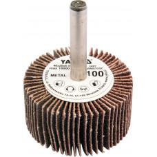 Круг лепест для дрели, 60 х 30 х 6 мм Р150