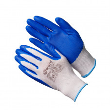 Перчатки нейлоновый с нитриловым покрытием
