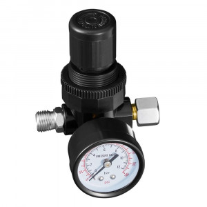 Регулятор давления с манометром 1/4 мини
