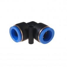 Фитинг для пластиковых трубок угловой 8 мм