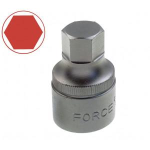 Головка бита 1/2 6-гр. 14мм L=40мм//FORCE