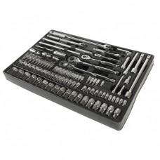 Набор инструментов для тележки инструментальной JTC-3931 (3-я секция) 94 предмета JTC
