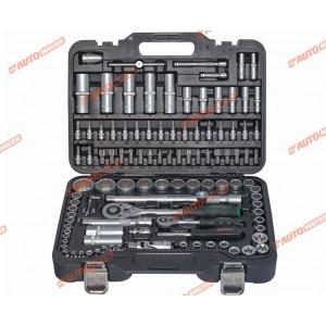 Набор инструментов 1/4, 1/2 108 пр. 4-32 мм 12 - гр. AUTOMASTER