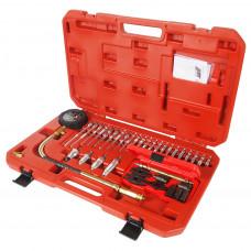 Компрессометр для дизельных двигателей с набором адаптеров 37пр.//JTC