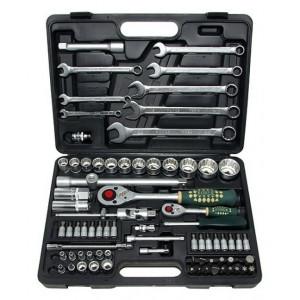 Набор инструментов 1/4, 1/2 4-32 мм 12 гр. 82 пр.//FORCE