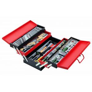 Набор инструментов 50235-101 (металлический ящик) 101 пр.//FORCE