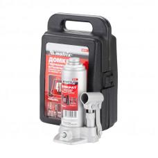 Домкрат гидравлический бутылочный в кейсе MATRIX 50754