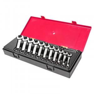 Набор ключей комбинированных укороченных 6-19мм в кейсе 14шт.//JTC