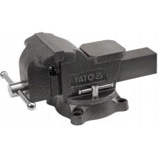 Тиски слесарные поворотные 200 мм//YATO