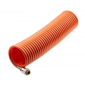 Шланг спиральн 6 х 8мм х 8м, оранжевый//AUTOMASTER