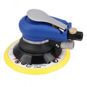 Пневмошлифмашинка орбитальная вакумная 150мм,11000 об/мин, со шлангом//AUTOMASTER