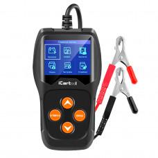 Тестер аккумуляторных батарей iCarTool IC-105