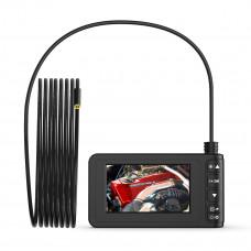 """Видеоэндоскоп промышленный, 4.3"""", 2Мп, 1280x720, 3м, 8мм зонд iCartool IC-V129"""