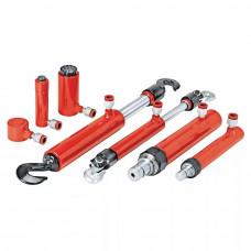 Набор гидрвлических стяжек и растяжек для правки кузова 2-10т.