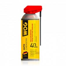 Смазка проникающая многоцелевая универсальная WOG WG-40, 335мл